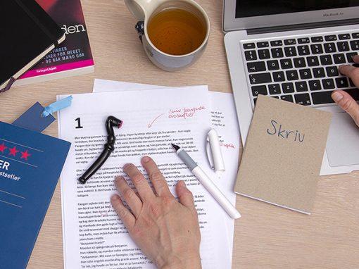 Skriveværkstedet / nyhedsbreve og sociale medier